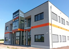 Neubau Geschäftshaus Firma Lupus