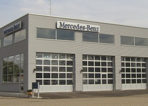 Anbau Nutzfahrzeug-Halle