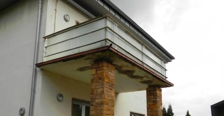 Betoninstandsetzung bei Balkonen