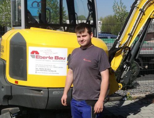 Ausbildung bei Eberle Bau.